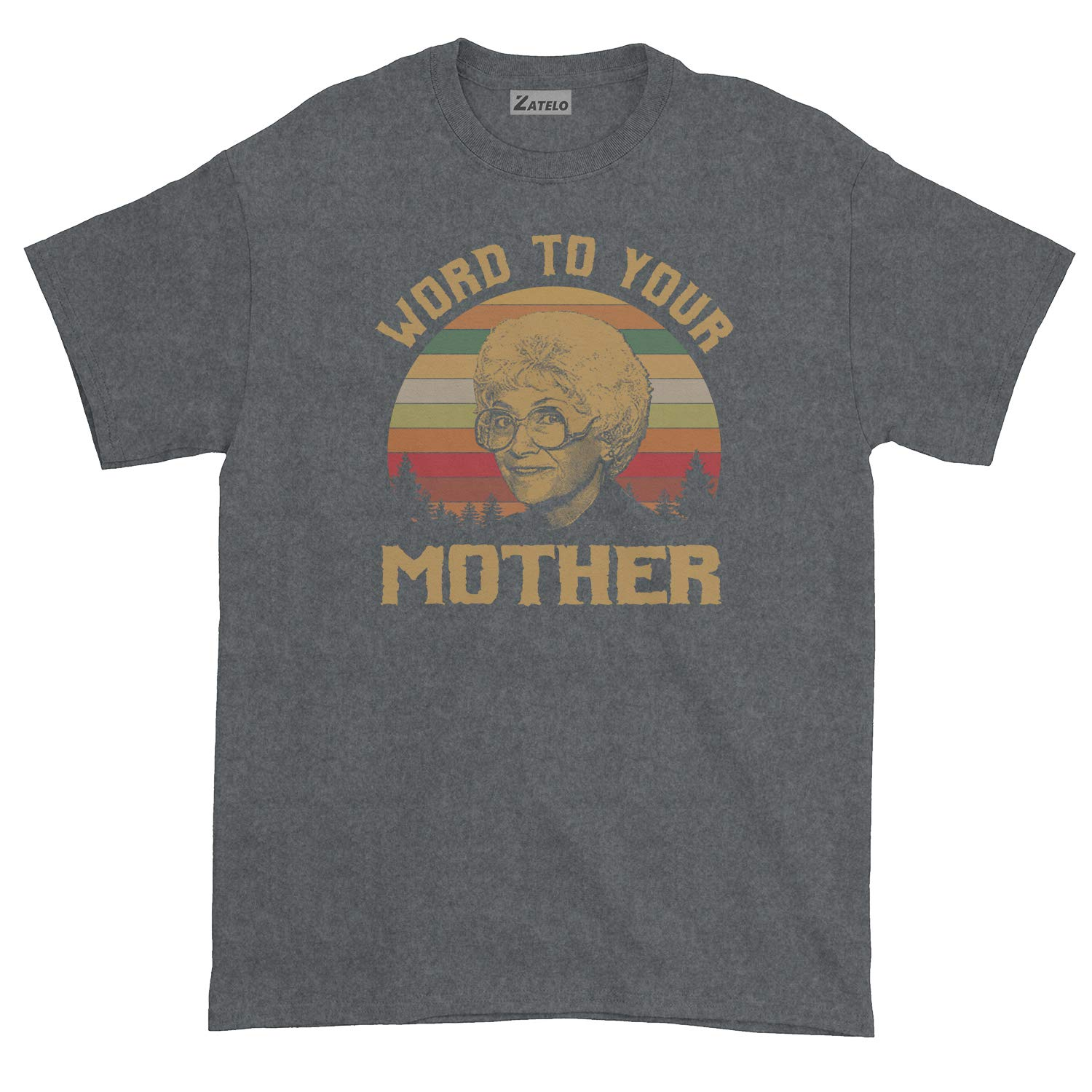 Vintage Retro T-Shirt Word to Your Mother