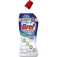 Bref Ultimate Gel White Active+ Ultra Bleach Power, Hospital grade disinfectant Toilet Cleaner gel, 450m(packaging may…