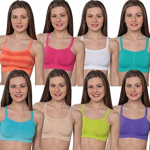 d348c1a05f Hanes Comfort Flex Fit Bandini Bra-2   4 Pack at Amazon Women s ...