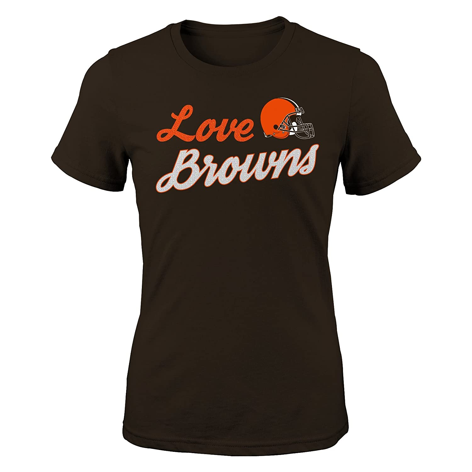 Outerstuff NFL Youth Girls 7-16 Live Love Team Short Sleeve Tee