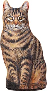 product image for Simba Cat Doorstop | Brown Tabby Striped Cat Door Stop | Decorative Door Stopper | Great Gift for Cat Lovers