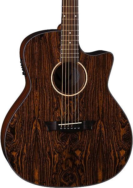 Dean 6 String AXS Dreadnought Solid Acoustic Guitar Satin Natural AX D MAH