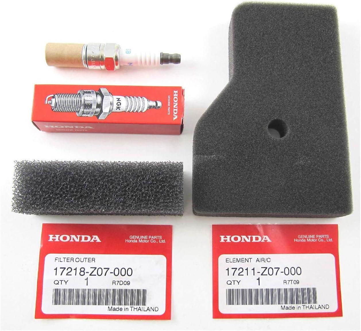 Part4less Genuine Honda OEM Parts, EU2000i Generator, Maintenance Tune Up Kit, Filters, Spark Plug, Fits Honda EU2000i, EU2000i Companion and EU2000i Camo.and EU2200i Series Generators