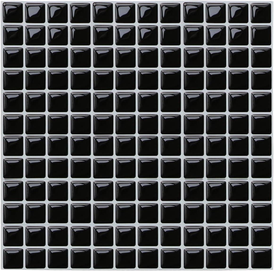 Amazon Com Yoillione 3d Mosaic Tile Sticker Removable Wallpaper