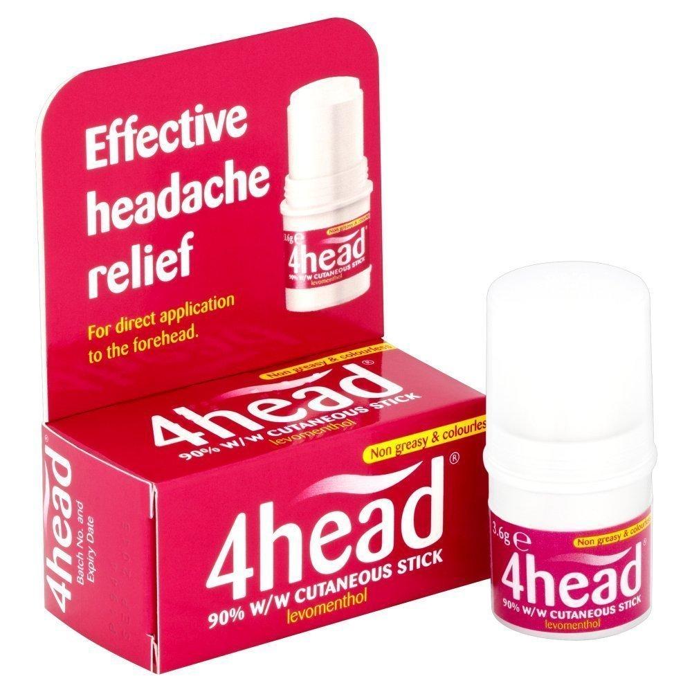 (2 PACK) - 4Head 4Head Headache Treatment | 3.6.g | 2 PACK - SUPER SAVER - SAVE MONEY