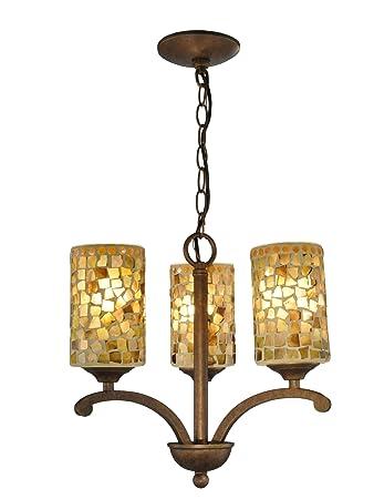 Amazon.com: Springdale TH12441 - Lámpara de araña, color ...