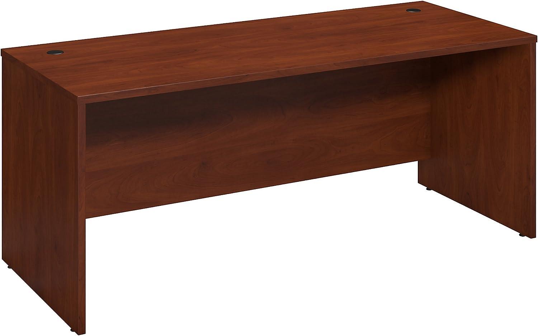 Bush Business Furniture Series C Elite 72W x 30D Desk Shell in Hansen Cherry