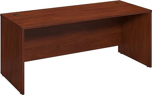 Bush Business Furniture Series C Elite 72W x 30D Desk Shell - the best home office desk for the money