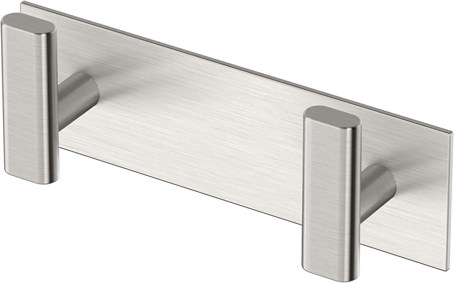 Gatco 1283SN Elevate All Modern Décor Hook, Double, Satin Nickel