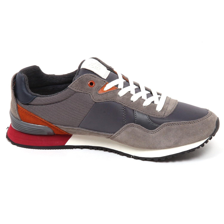 E5364 Sneaker uomo Grey Gaudi' Jeans Scarpe SuedeTissue