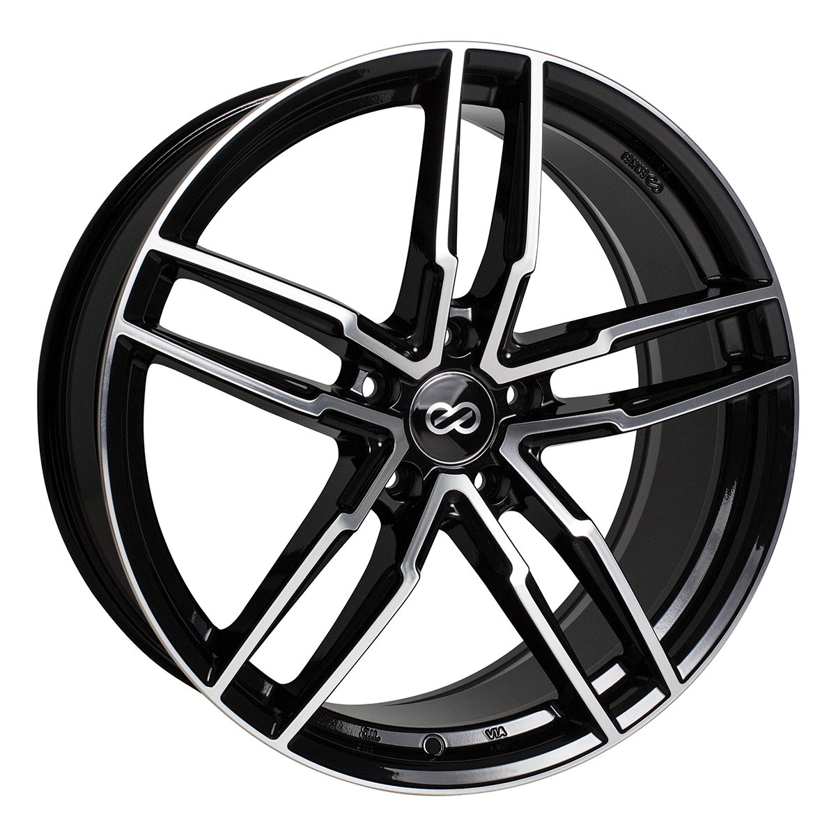 20'' Enkei SS05 Performance Wheel Rim Black 20x8.5 5x114.3 +38 511-285-6538BKM