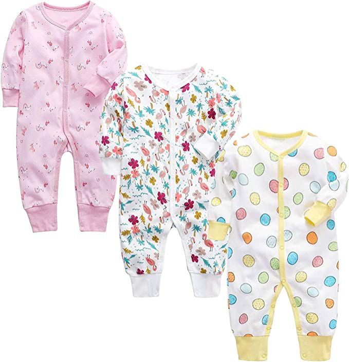 Baby Jumpsuit Baby Rompersuit Baby Sleepsuit Baby Romper Sleep is for The Weak Baby Rompersuit with Feet SR