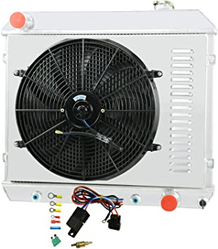 fans shroud NEW 3 ROW CHEVY// GMC C//K SERIES PICK UP TRUCK Aluminum RADIATOR