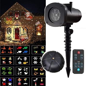 AOKARLIA Proyector Navidad LED Luces Proyección Decorativa De ...