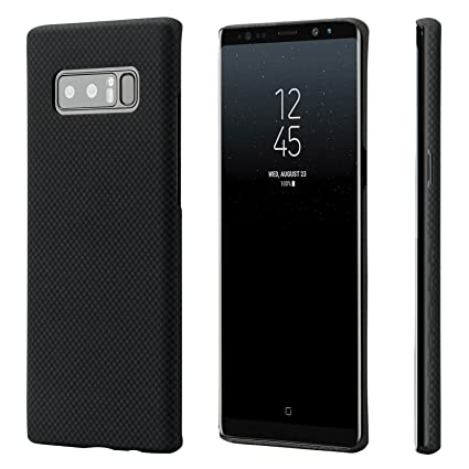 the latest 2d128 ff6ab Galaxy Note 8 Case, PITAKA Magcase Aramid Fiber[Real Body Armor Material]  Phone Case,Slim fit Strongest Durable Snugly Fit Snap-on Phone Cover Case  ...