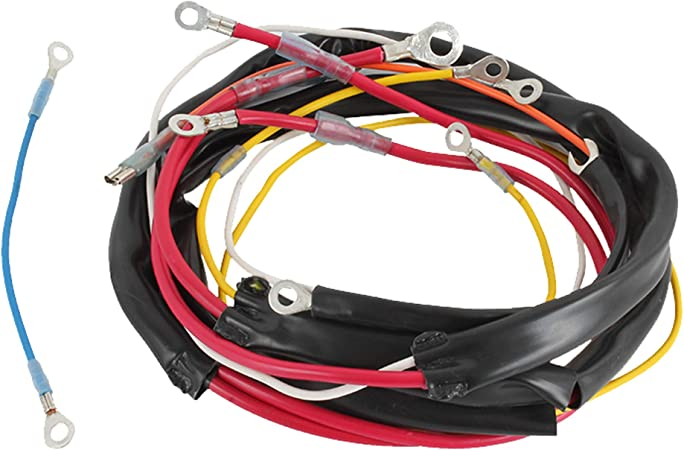 amazon.com: db electrical akt9203 wiring harness compatible  with/replacement for late ford 8n tractor w/side mount distrbutor: garden &  outdoor  amazon.com