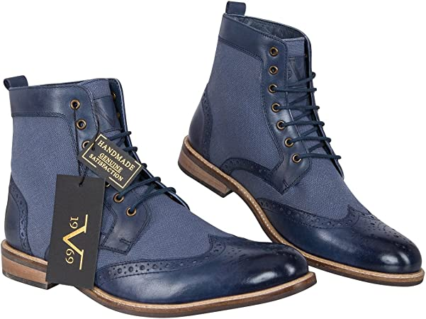 billig 19V69 Business Lace Up Boots V60 by Versace 1969