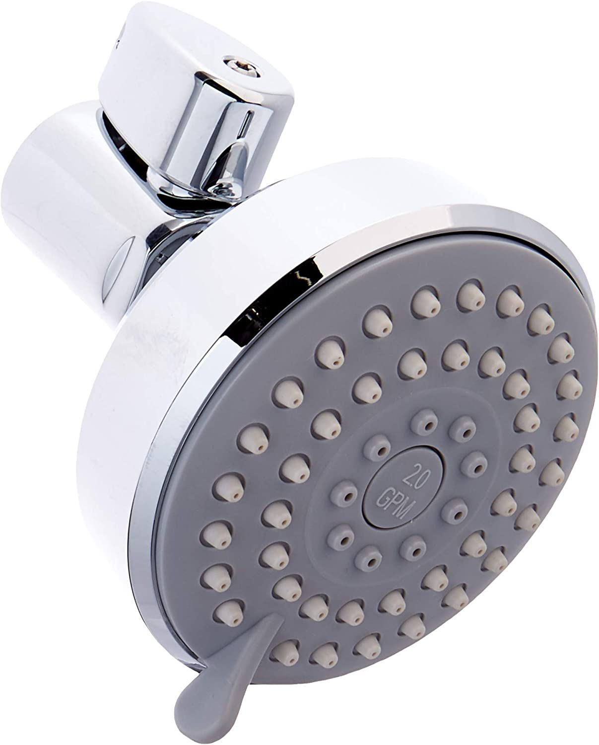 ShowerStart LLC Multifunction ShowerStart TSV 2.0 gpm Shower Head, Polished Chrome