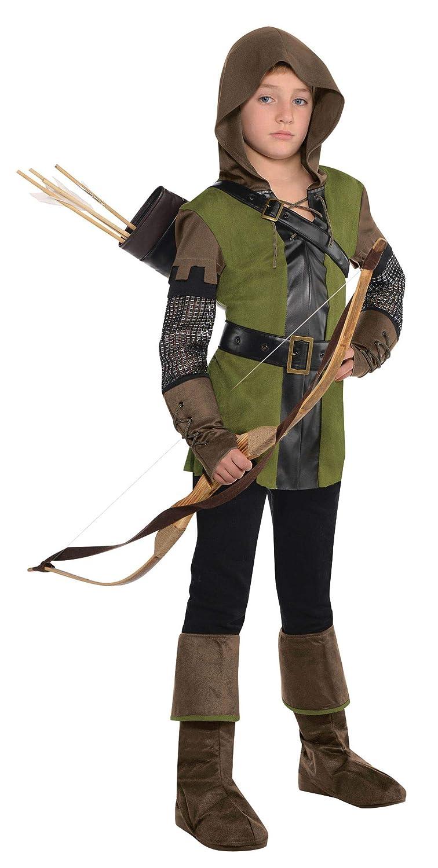 Amscan El rey de los Ladrones Robin Hood Disfraz infantil niño ...