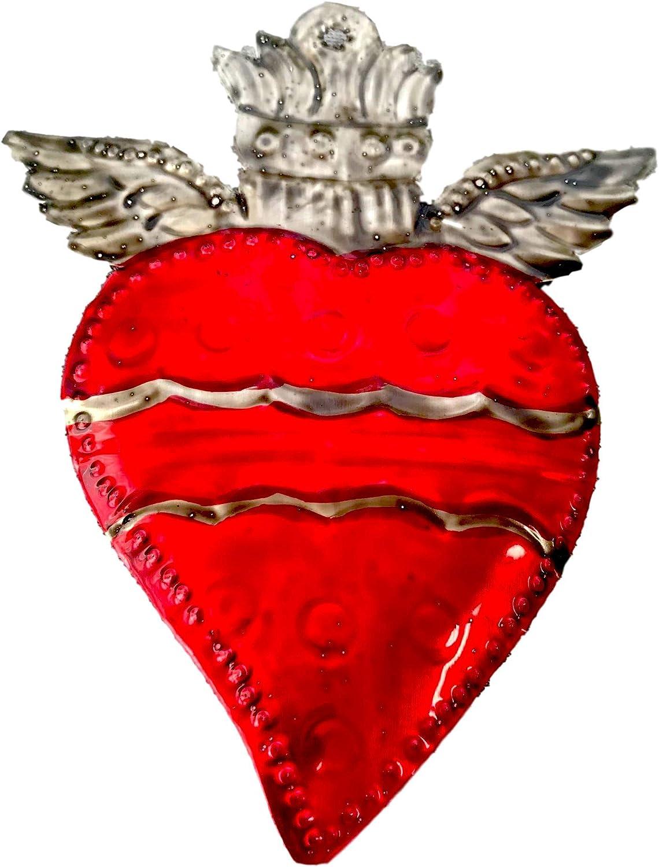 Custom Sacred Heart Milagro Address Wedding Monogram Rubber Stamp