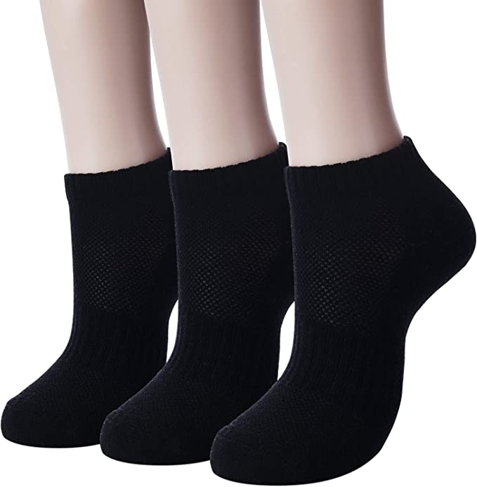 Men/'s Socks Thick No Show Casual Athletic Type 3 Pairs//Lot Foot Accessories Wear