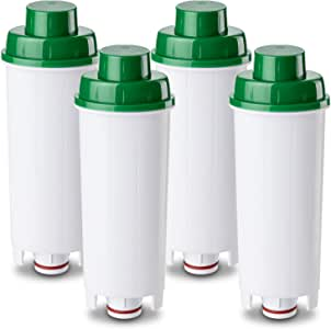 4 x CFL-950B Premium Compatible with Delonghi Espresso Machine Water Filter DLS C002 SER3017 5513292811 DLSC002