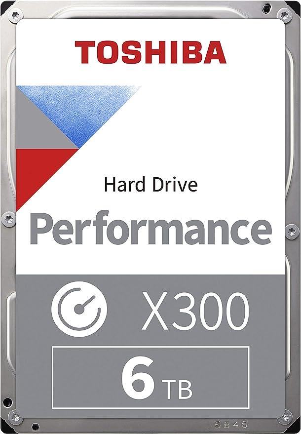 Toshiba X300 6tb 7200rpm 128mb 3 5 Sata Computer Zubehör