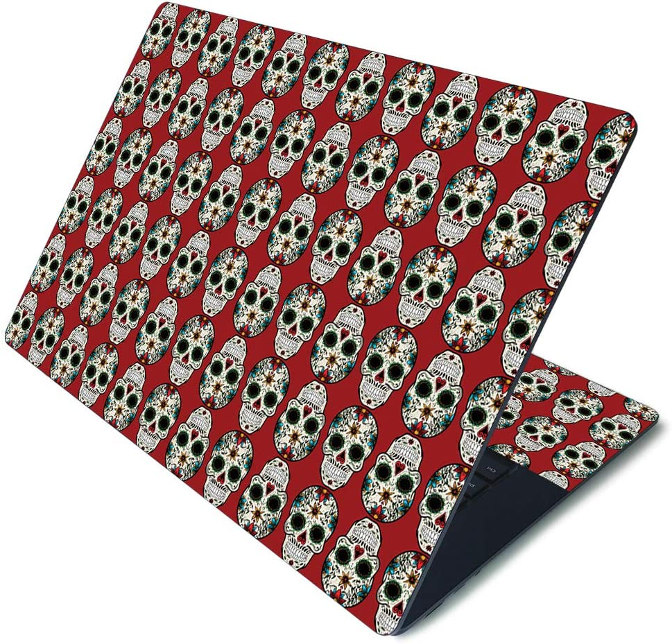 """MightySkins Skin for Microsoft Surface Laptop 3 15"""" - Sugar Skull 