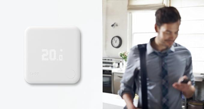 Tado° - Kit de Inicio V2, Termostato Inteligente, Control Inteligente de Calefacción, Trabaja con Amazon Alexa, Asistente de Google, IFTTT