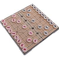 T Tocas(tm) Jeu d'Echecs Chinois classique/Jeu de stratégie/Xiangqi avec un tableau magnétique pliable