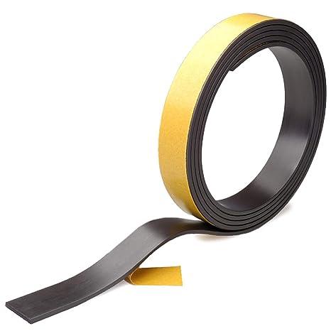 5M Magnetband selbstklebend Magnetklebeband Magnetstreifen 15 x 1,5mm Stark 1M