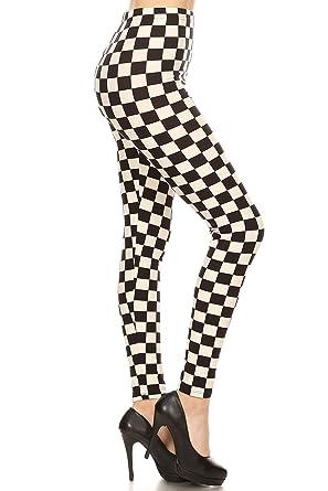 44ff0df5703 Amazon.com  Leggings Depot Women s Ultra Soft Printed Fashion ...