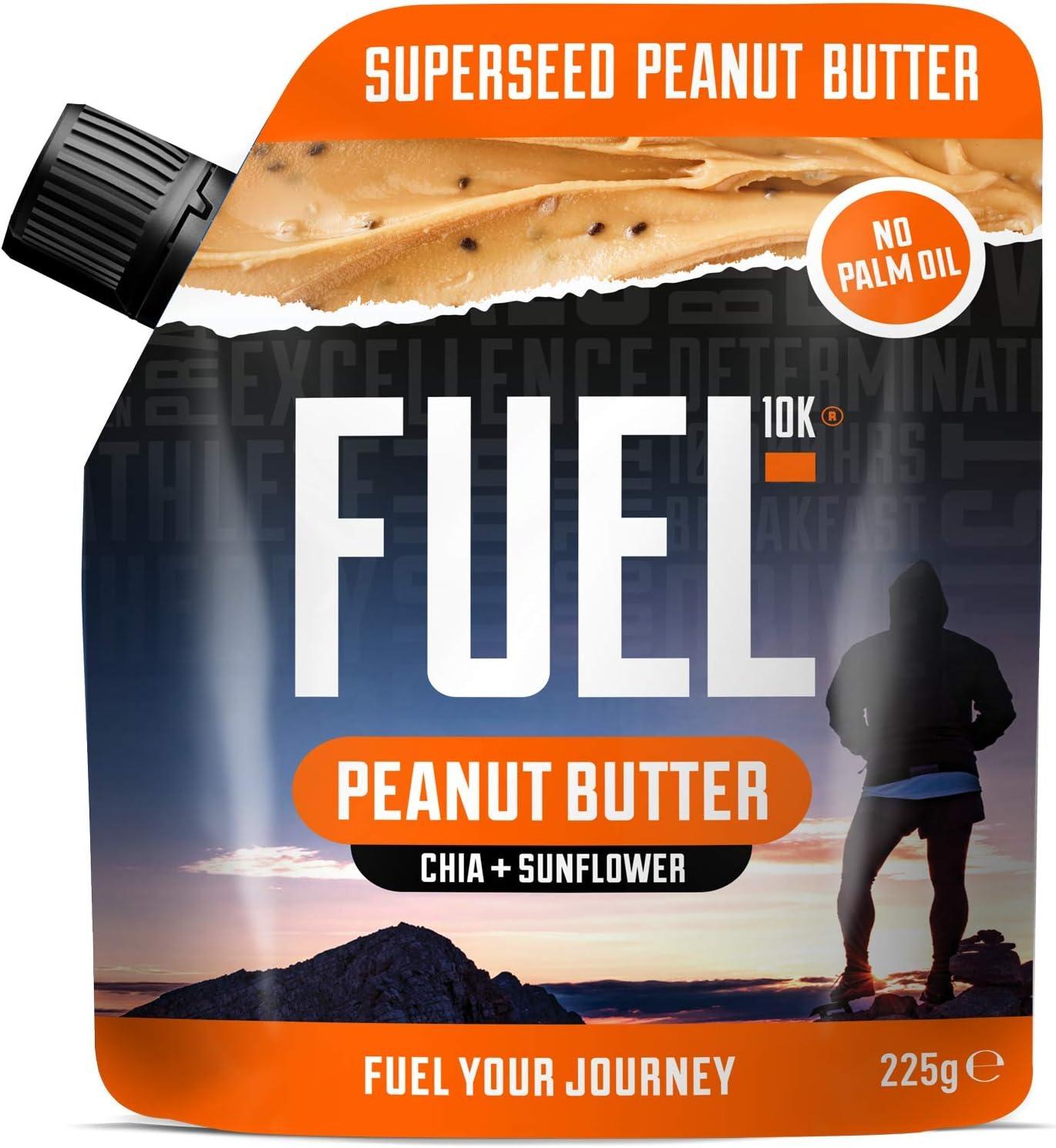 fuel10 K Super semillas de mantequilla de cacahuete: Amazon.es ...