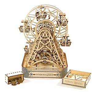 Wooden City Wooden Mechanical Model Ferris Wheel Review