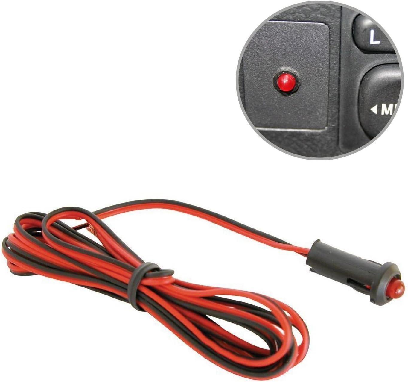 Home Smart Rote Led Blinkt Dummy Alarm Warnung Sicherheit Licht 12v Auto Armaturenbrett Abschreckung Auto