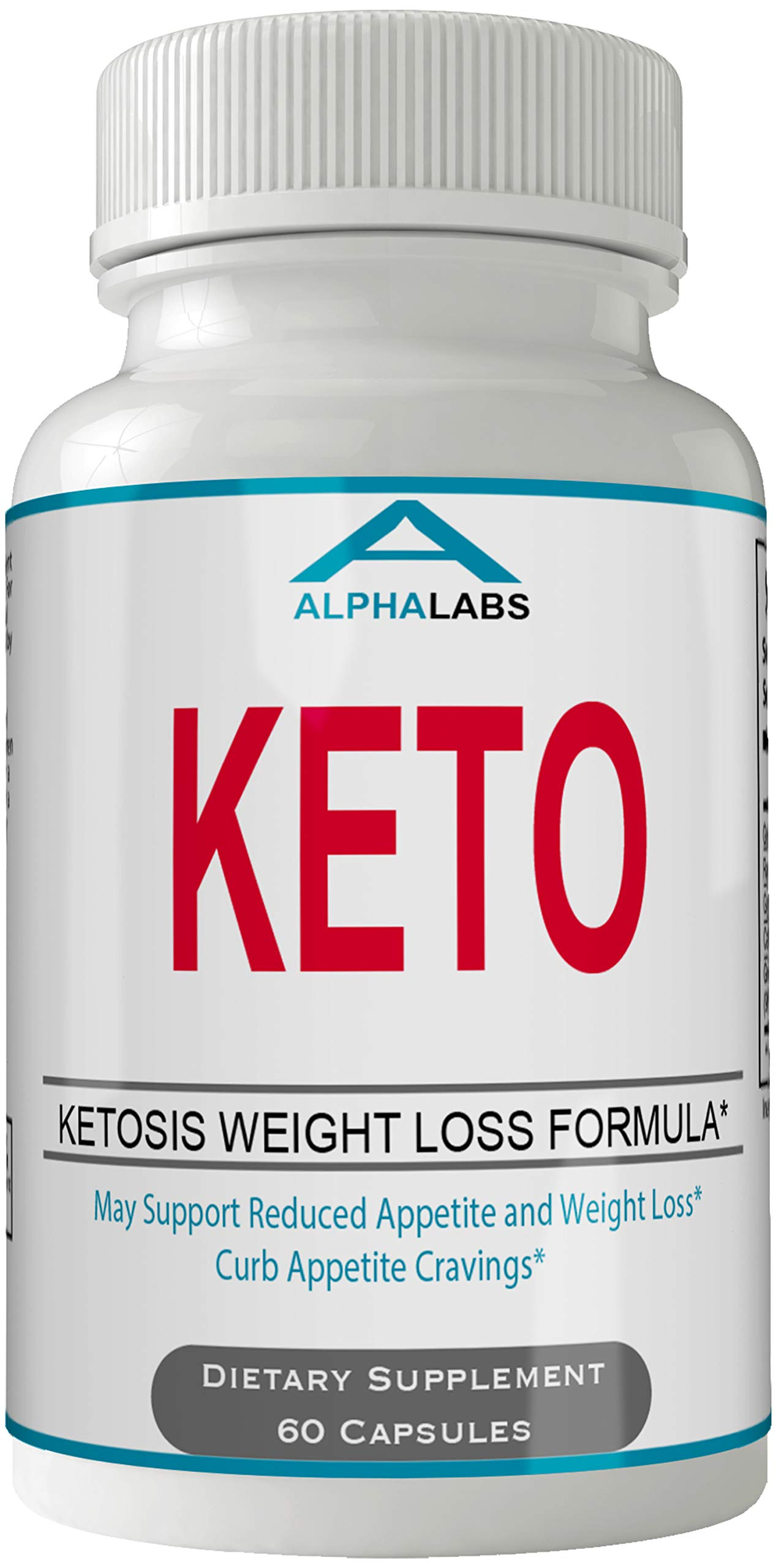 Alpha Labs Keto Weight Loss Diet Pills Advanced Energy Ketones Supplement Capsules by Alphalabs by nutra4health LLC