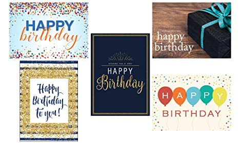 Amazon Birthday Greeting Card Assortment Vp1702 Business