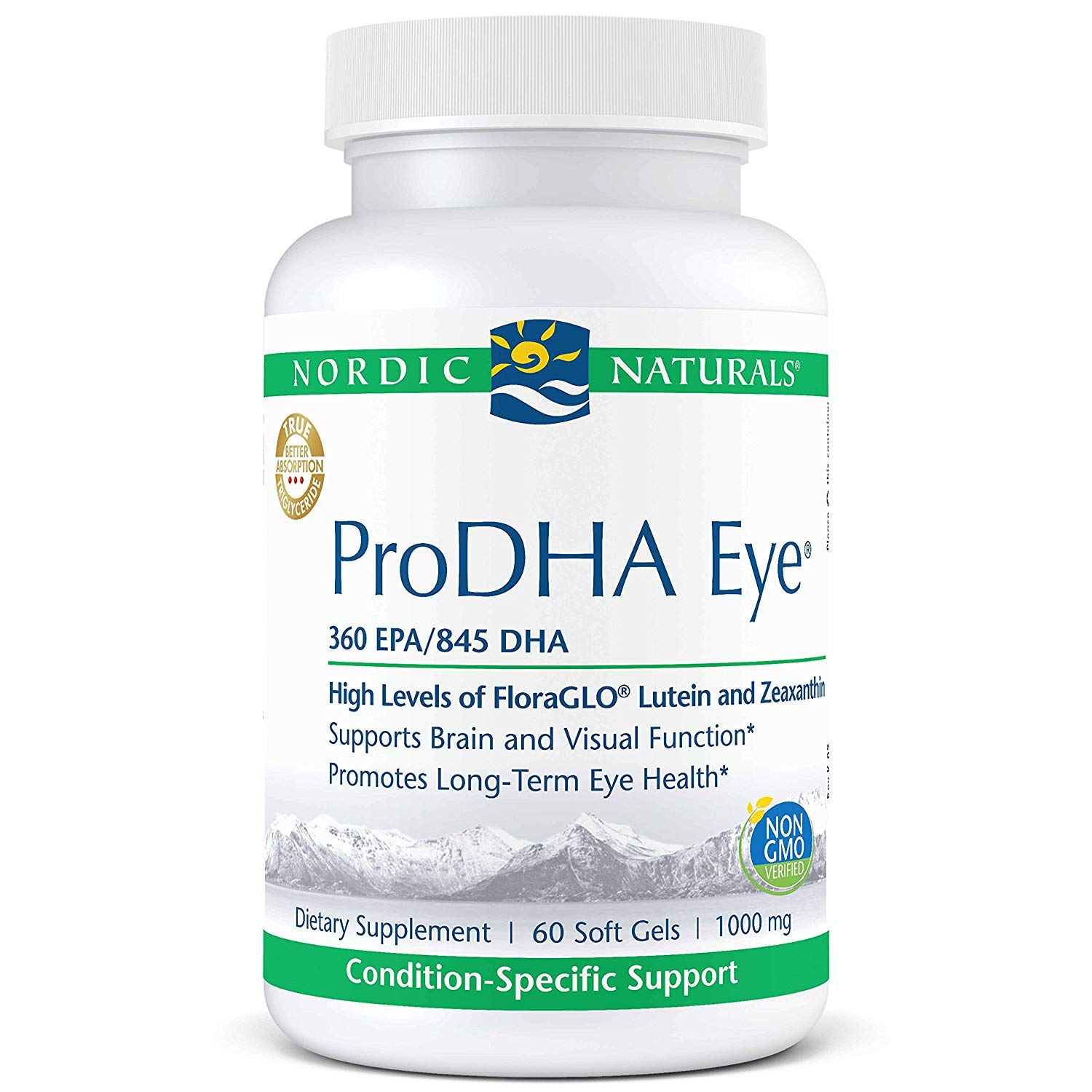 Nordic Naturals Prodha Eye Soft Gels, 60 Count by Nordic Naturals