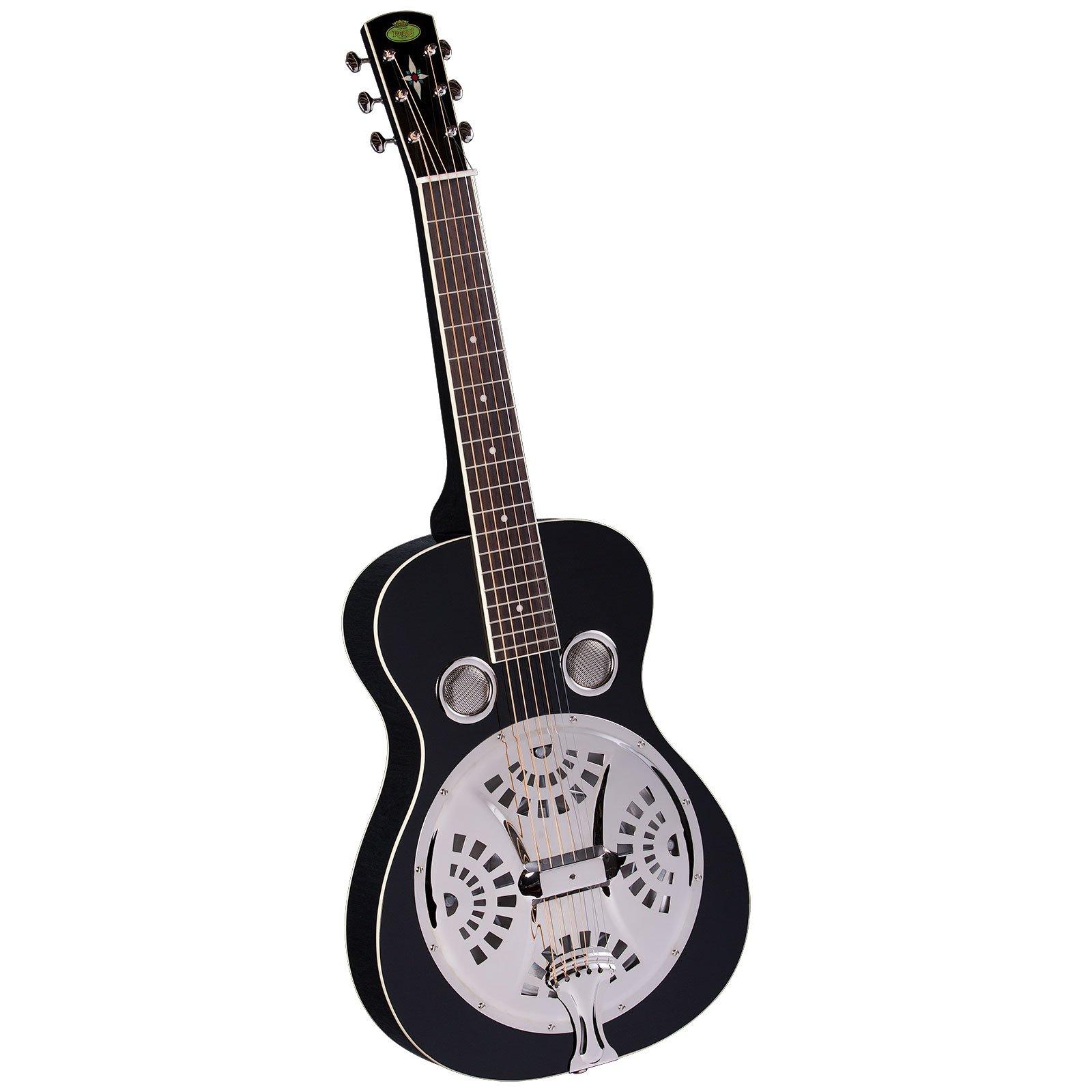 Regal RD-40BS Studio Series Squareneck Resophonic Guitar - Black by Regal Resophonic Guitars