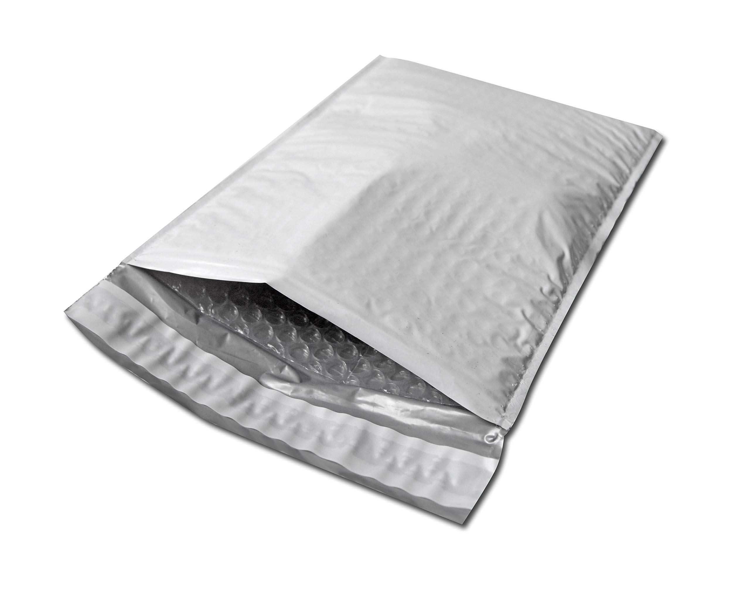 Poly Bubble Mailers Shipping Mailing Padded Envelopes #0 Self Adhesive Bag 6.5'' x 10'' 1000 Bags