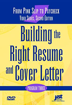 Amazon.com: Building the Right Resume and Cover Letter, Second
