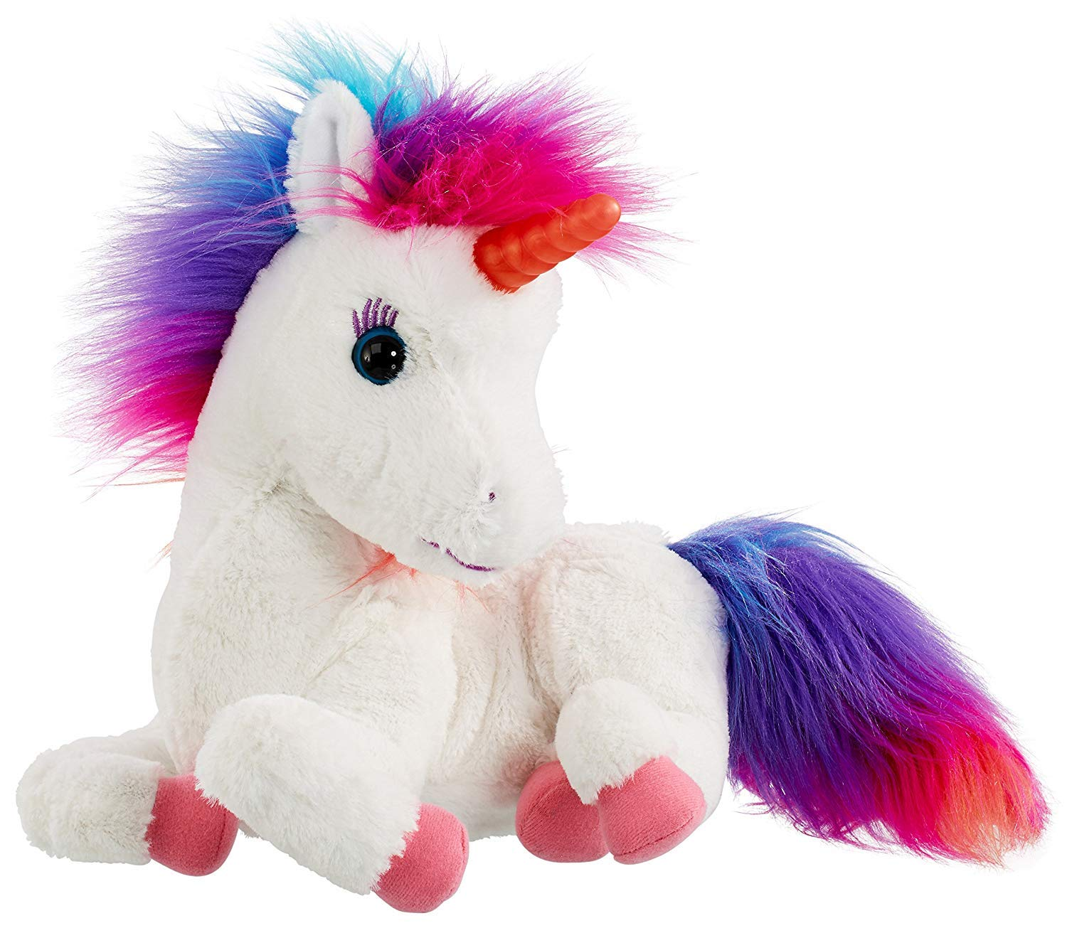 AniMagic Rainbow - My Glowing Unicorn, a Soft Unicorn Plush Toy with Glowing Horn and Unicorn Sounds 8