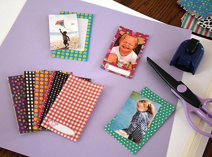 Polaroid coloridas pegatinas de bebés para fotos en papel de foto 2x3 (Snap, Zip, Z2300) - 3 hojas exclusivas