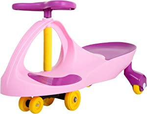 Ride on Toy, Ride on Wiggle Car by Lil' Rider - Ride on Toys for Boys and Girls, 2 Year Old And Up, Pink and Purple