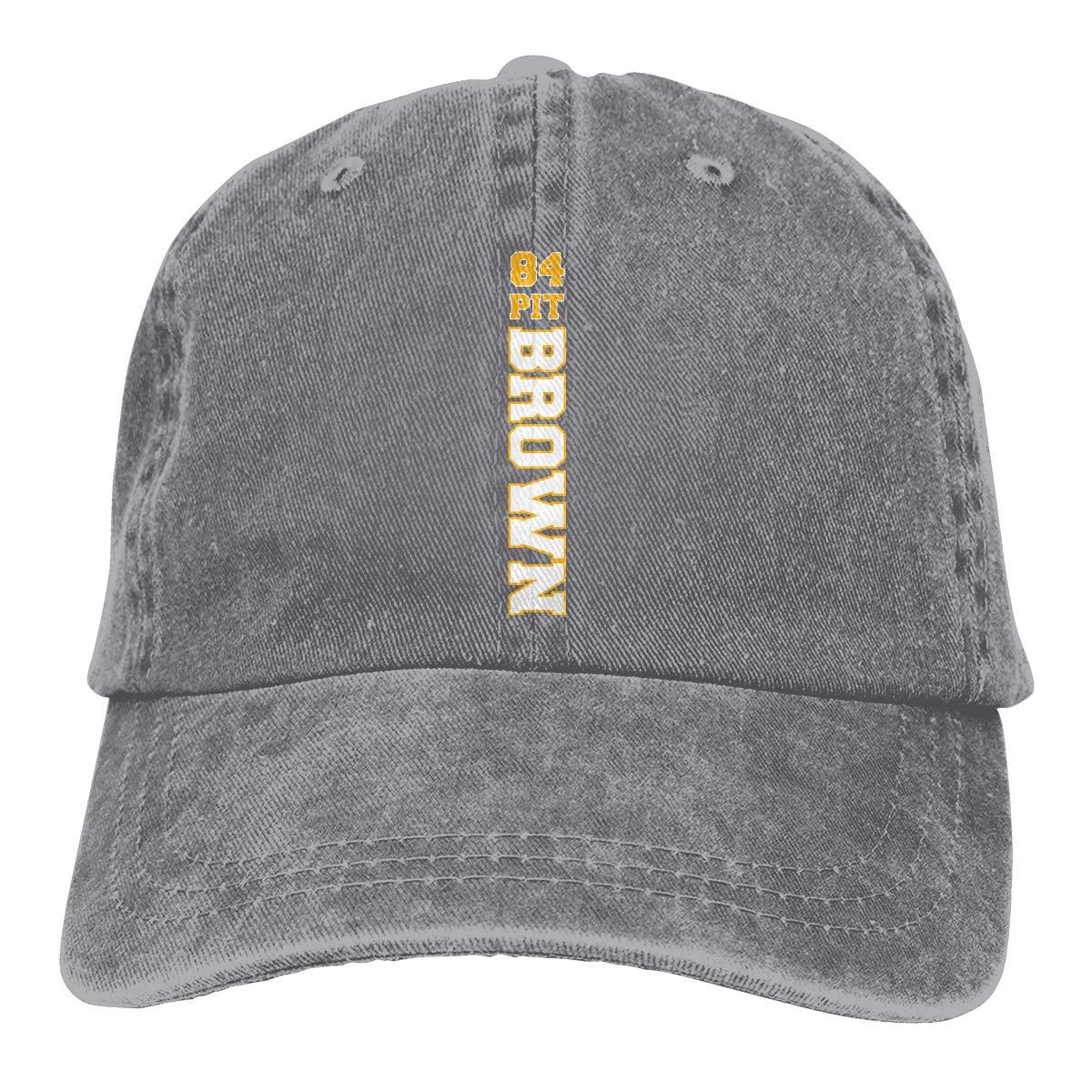 DeniCar Unisex Adjustable Baseball Caps Antonio-Brown-Logo Cowboy Skull Cap
