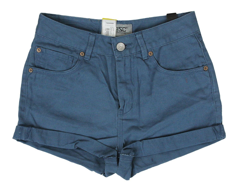Wesc Women's Amia Shorts Mallard Blue) E207631
