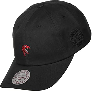 Mitchell   Ness Toronto Raptors Dad Cap - Elements - Black Adjustable 699f77b5b3c