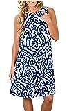 Ladies Sleeveless Dresses for Summer,Sun Dresses
