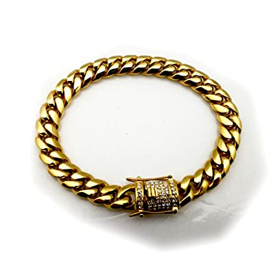 jewelry store cuban real nepal hot men link plated trendy accessories chain bracelet bracelets product gold thick
