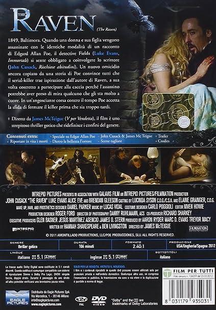 The Raven - Gli Ultimi Giorni Di Edgar Allan Poe Italia DVD ...
